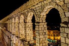 Aqueduc de Segovia, Espagne Photographie stock