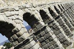 Aqueduc de Segovia, Espagne Photos libres de droits