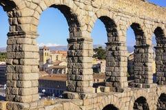Aqueduc de Segovia, Espagne photo libre de droits