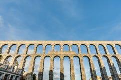 Aqueduc de Segovia la Castille et à Leon, Espagne Image libre de droits