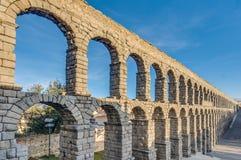 Aqueduc de Segovia la Castille et à Leon, Espagne Photo libre de droits