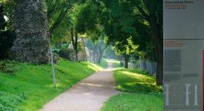 Aqueduc historique Image libre de droits