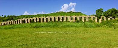 Aqueduc romain Photos stock