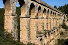 Aqueduc romain Photographie stock libre de droits