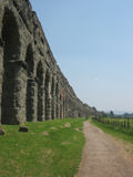 Aqueduc romain Photo libre de droits