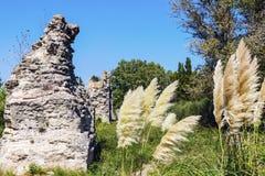Aqueduc Romain de Barbegal Стоковое Изображение RF