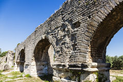 Aqueduc Romain de Barbegal Stock Image