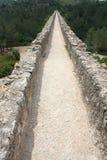 Aqueduc romain près de Tarragona Photographie stock libre de droits