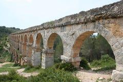 Aqueduc romain près de Tarragona Photos libres de droits