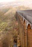 Aqueduct 1. Photograph of Pontcysyllte Aqueduct in Wales Royalty Free Stock Photo