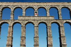 Aqueduct Royalty Free Stock Images