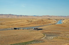 Aqueduct. Central Valley, California royalty free stock photos