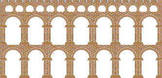 Aqueduct. History monument transportation water Royalty Free Stock Images