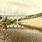 aqueduct fotos de stock