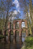Aqueduct in Arkadia in Poland Stock Photography