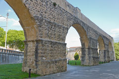 Aqueduct in Coimbra, Portugal Royalty Free Stock Photos