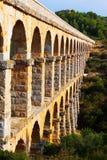 Aqueduct de les Ferreres in Tarragona. Spain Stock Photos