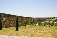 Aqueduct in Elvas, Portugal Stock Photos
