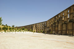Aqueduct in Elvas, Portugal Royalty Free Stock Photography