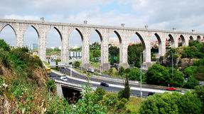 Aqueduct of the Free Waters Stock Photography