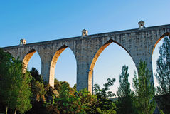 Aqueduct of the Free Waters Royalty Free Stock Photos