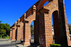Aqueduct III. Aqueduct of the city of zacatecas, mexico Stock Photography