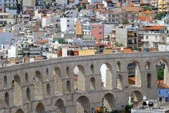 Aqueduct Kavala Royalty Free Stock Photo