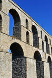 Aqueduct, Kavala, Greece Stock Image
