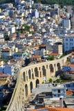 Aqueduct, Kavala, Greece Royalty Free Stock Image