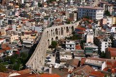 Aqueduct Kavala Royalty Free Stock Image