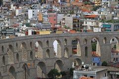 Aqueduct Kavala Royalty Free Stock Photography