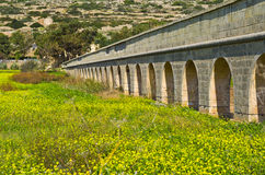 Aqueduct Royalty Free Stock Photography