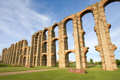 Aqueduct of the Miracles Royalty Free Stock Images