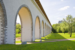 Aqueduct in Moscow Royalty Free Stock Photography
