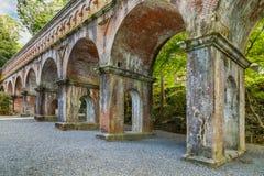 Aqueduct at Nanzen-ji Temple in Kyoto Royalty Free Stock Photography