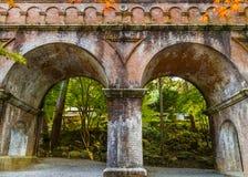 Aqueduct at Nanzen-ji Temple in Kyoto Royalty Free Stock Photo
