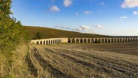 Aqueduct near Tarquinia Royalty Free Stock Photos