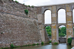 Aqueduct of Nepi. Lazio. Italy. Royalty Free Stock Images