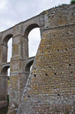 Aqueduct of Nepi. Lazio. Italy. Stock Photos
