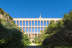Aqueduct in Nerja Spain Royalty Free Stock Photography