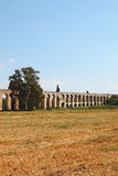 The aqueduct in the north of Israel Stock Image