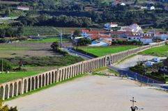 Aqueduct of Obidos Royalty Free Stock Photography
