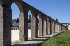 Aqueduct - Obidos - Portugal stock photography