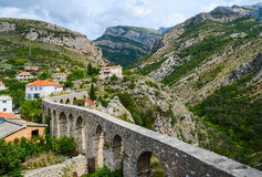 Aqueduct in Old Bar, Montenegro Stock Photos