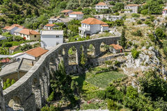 Aqueduct in old city of Bar. Montenegro. Stock Photo