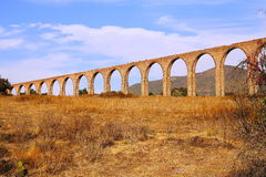Aqueduct of Padre Tembleque II Stock Photo