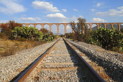 Aqueduct of Padre Tembleque IV Stock Images