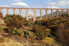 Aqueduct of Padre Tembleque IV Royalty Free Stock Images