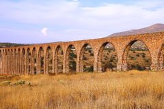 Aqueduct of Padre Tembleque IX. The Aqueduct of Padre Tembleque was the most important hydraulic project of the colonial period. State of mexico, mexico Royalty Free Stock Images