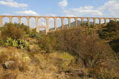 Aqueduct of Padre Tembleque V Royalty Free Stock Images